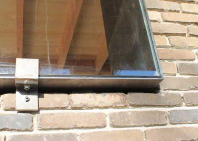 detail stalen raam