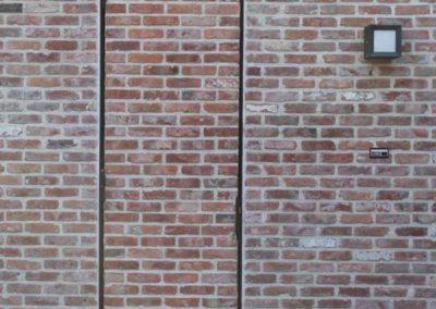 baksteen deur